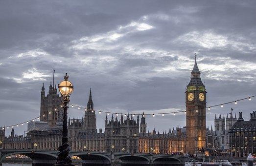 Uk, London, England, City, Famous, Bridge, Big Ben