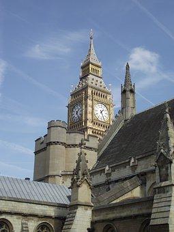 Big Ben, London, Westminster, Landmark, Tower
