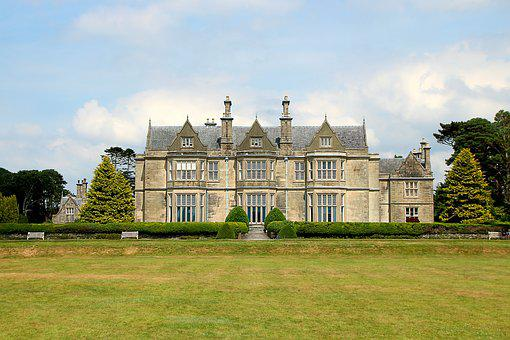 Ireland, Manor House, Country Estate, Architecture