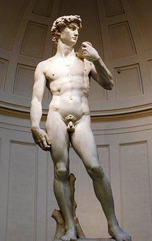David, Miguel Angel, Statue, Culture, Florence, Naked