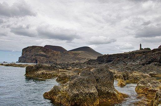 Landscape, Nature, Rocks, Stones, Lighthouse, Tower