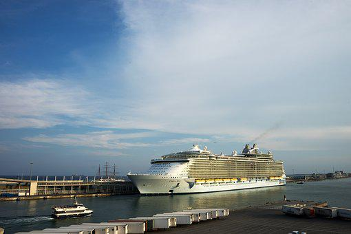 Cruise, Boat, Ship, Ocean, Sea, Marine, Holiday, Port