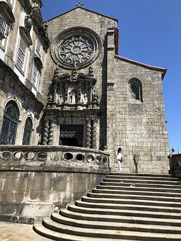 Old, Church, Porto, Architecture, Building, Religion