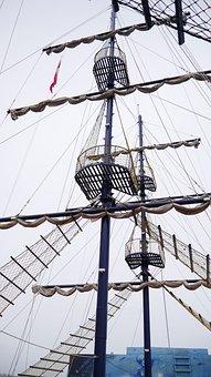 Ship, Black Pearl, Yelken, Boat, Pirate, Mast, Sailboat