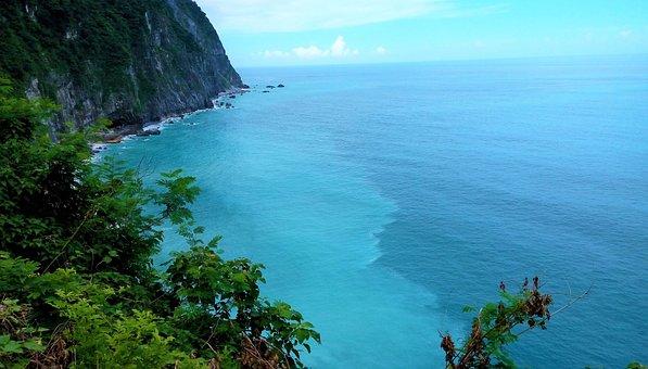 Sea Shore, Big Blue, Blue, Sea, Water, Ocean, Coast