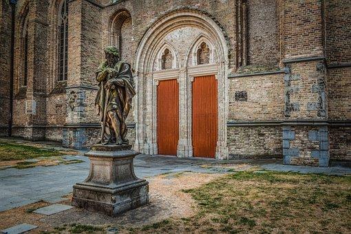 Sint-salvatorskathedraal, Brugge, Church, Exterior