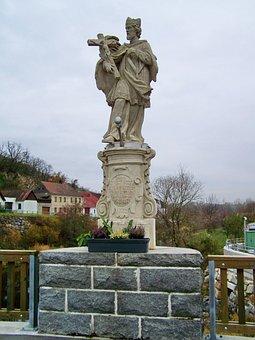 St John Of Nepomuk, Statue, Patron Saint