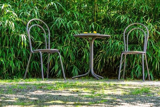 Seating Arrangement, Chair, Table, Garden Chairs