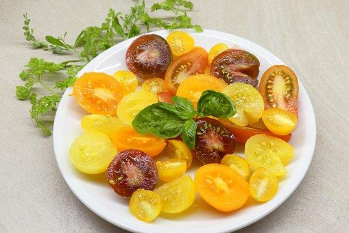 Tomatoes, Harvest, Garden, Vegetables, Eat, Red, Fresh