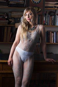 Underwear, Lace Lingerie, Lace, Net, Cabinet, Library