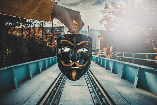 Mask, Eyes, Face, Person, View, Mysterious, Scary
