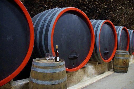Viticulture, Wine, Barrels, Storage, Cellar, Wood