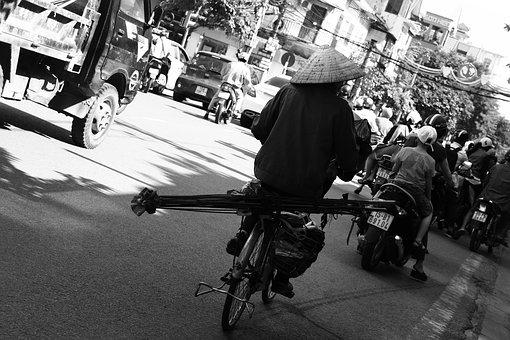 Life, Job, People, Vietnam, Worker, Road, Haiphong