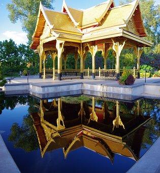 Olbrich Thai Pavilion, Botanical, Gardens, Madison