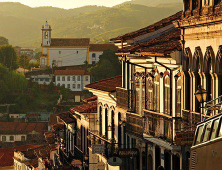 Minas, Black Gold, City, Tourism, Brazil