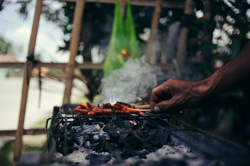 Barbecue, Charcoal, Chicken Feet, Food, Smoke