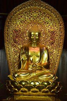 Buddhism, Temple, China, Shanghai, Religion, Pagoda