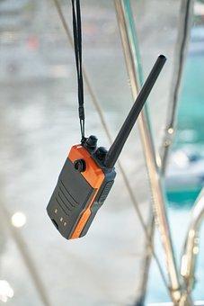Radio, Communication, Marine, Boat, Contact, Water