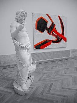 Statue, Art, Modern, Museum, Design, Sculpture