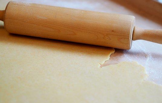 Bake, Dough, Dough Roller, Prepare, Rolling Pin