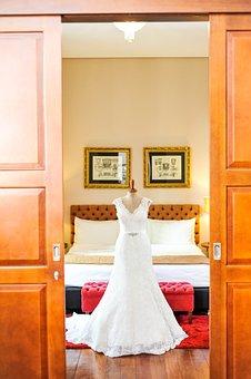 Marriage, Dress, Bride, Woman, Love, Fashion, White