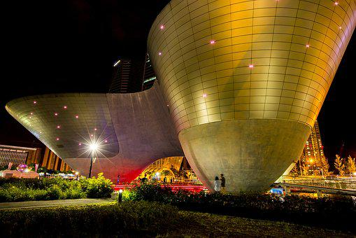 Night View, Happy, Dry Ball, Lights, Gold, Concert Hall