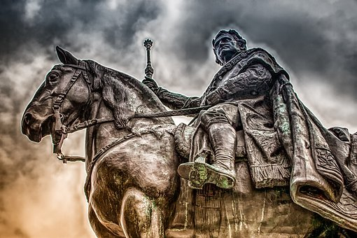 Still Image, Sculpture, Equestrian Statue, Figure