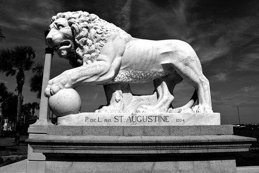 Bridge Of Lions, Historic, St Augustine, Florida