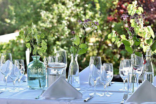 Party, Garden Party, Garden Dinner, Sommerfest, Eat
