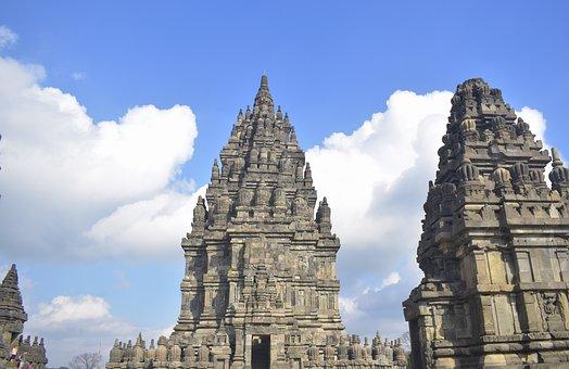 Prambanan, Temple, Hinduism, Unesco, Ancient, Indonesia