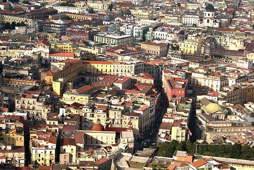Spanish Quarters, Naples, Italy, The Old Centre