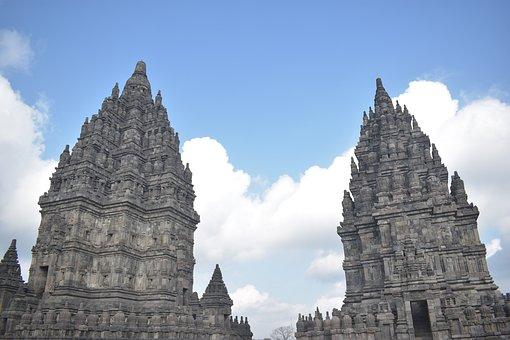 Prambanan, Temple, Unesco, Java, Indonesia, Yogyakarta