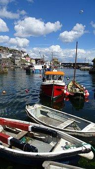 Boats, Fishing, Fisheries, Village, Coast, Sea, Scenic