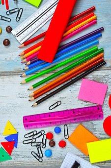 School, Back-to-school, School Supplies, Education