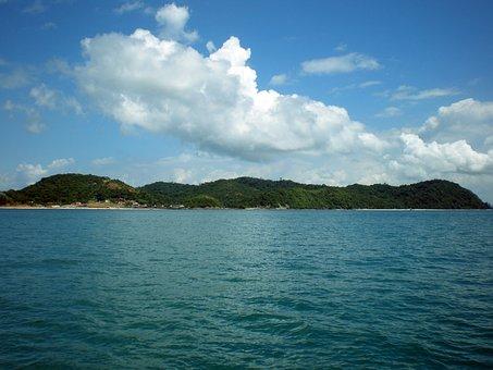 Island, Nature, Sky, Blue, Rio, Mar, Water, Landscape
