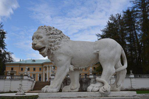 Arkhangelsk, Homestead, Statue, Leo