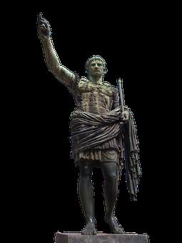 Julius, Caesar, Statue, Sculpture, Rome, Isolated