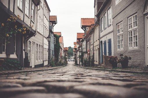 Mecklenburg, Flensburg, Port, Water, Coast, Summer