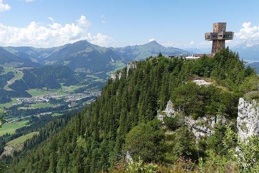Austria, Piller Seetal, Jacob's Cross, St, Ulrich