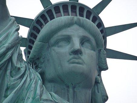 Statue Of Liberty, Statue De La Liberté, New York, Usa