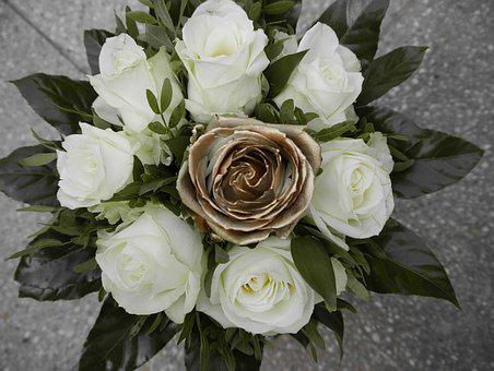 Wedding Bouquet, Golden Weddings, 50 Years, Married