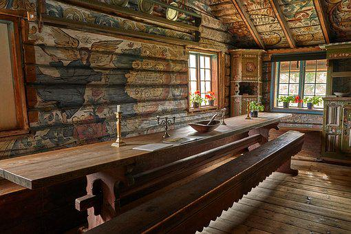 Farmhouse, Museum, House, Architecture, Wood