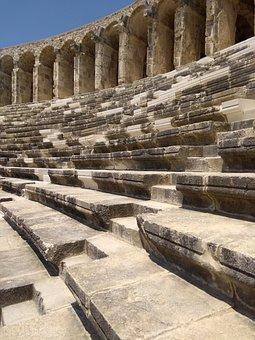 Theatre, Turkey, Aspendos, Ancient Times, History