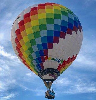 Hot Air Balloon, Flight, Flying, Color, Balloon