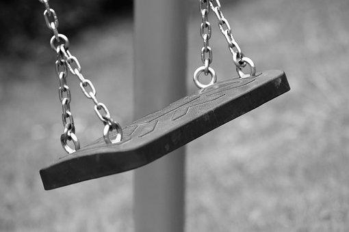 Empty Swing, Swinging, Depopulation, Migration, Park