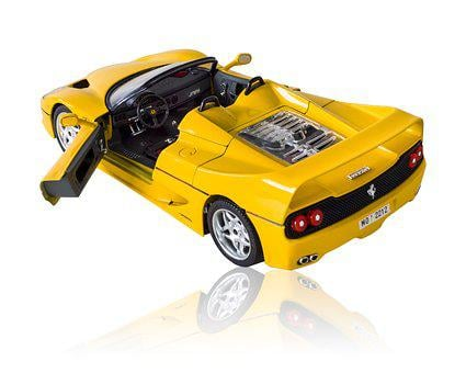 Ferrari F50 1995, Car, Toy, Auto, Isolated, Automobile