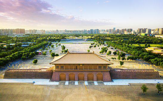 Daming Palace, China, Heritage Park, Tang Palace