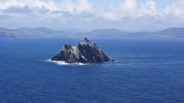 Ireland, Little Skellig, A View Of The, Skellig Michael