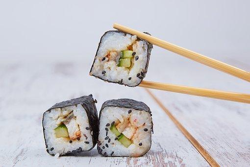 Food, Sushi, Seafood, Japan, Oriental, Japanese