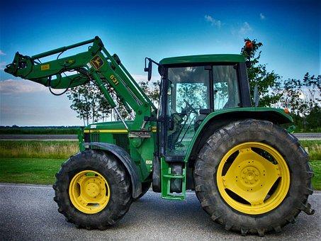 John Deere, John Deere 6110, Tractors, Tractor